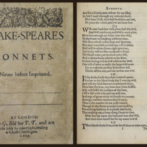An Evening of Shakespeare's Sonnets